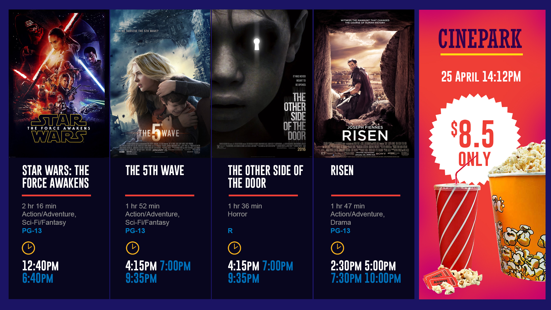 Fantasy theater movie times