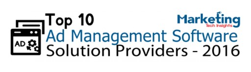 "Mvix Named One of ""Top 10 Ad Management Software Solution Providers - 2016"""