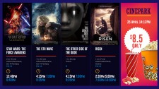 Mvix Launches Box Office Display Solution for Movie Theaters